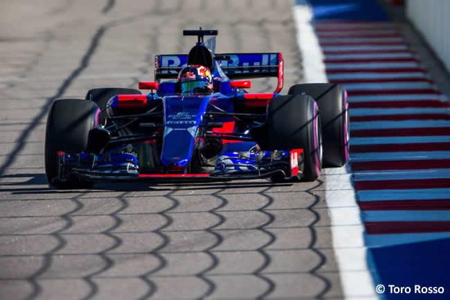 Daniil Kvyat - Toro Rosso - GP Rusia 2017 - Viernes