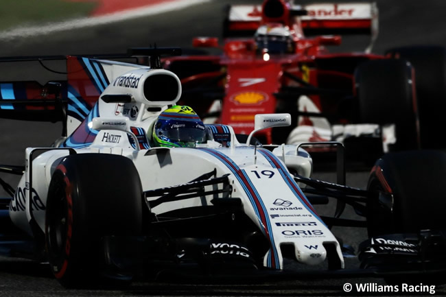 Felipe Massa - Williams - GP Bahréin - 2017 - Domingo - Carrera