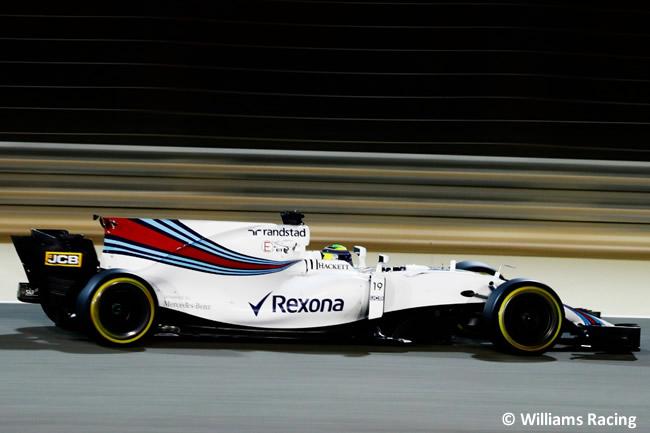 Felipe Massa - Williams - GP Bahréin - 2017 - Viernes