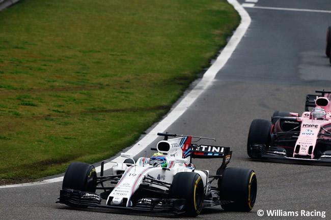 Felipe Massa - Williams - Gran Premio China 2017 - Carrera - Domingo