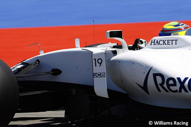 Felipe Massa - Williams - Domingo - Carrera - GP Rusia 2017