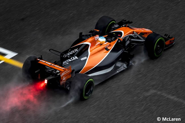 Fernando Alonso - McLaren-Honda - Gran Premio China 2017 - Entrenamientos - Viernes