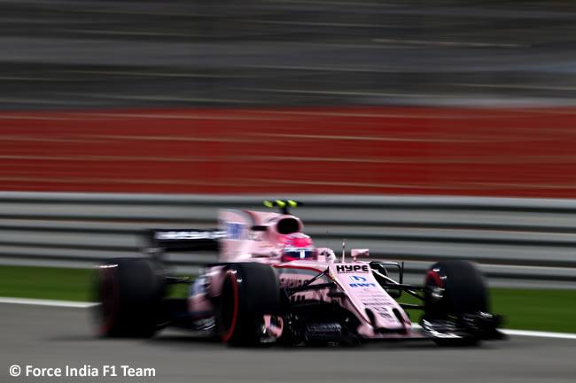 Force India - GP Bahréin - 2017 -Sábado - Calificación - Clasificación