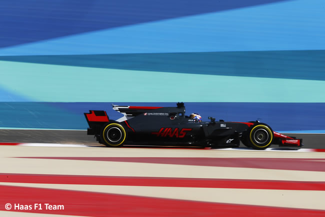 Haas - GP Bahréin - 2017 - Viernes