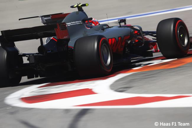 Haas - GP Rusia 2017 - Calificación - Clasificación