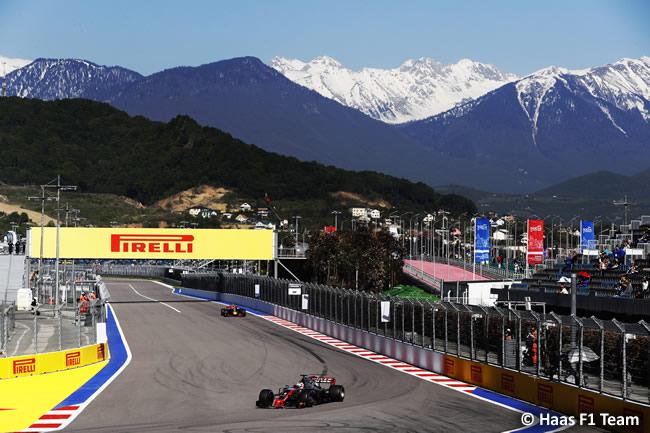 Haas - GP Rusia 2017 - Viernes