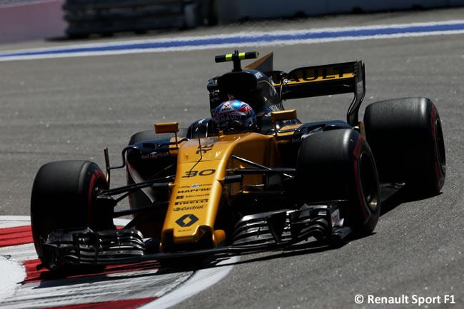 Jolyon Palmer - Renault Sport - GP Rusia 2017 - Viernes