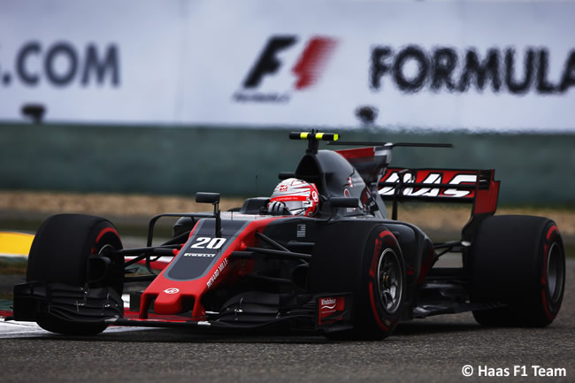 Kevin Magnussen - Haas - Gran Premio China 2017 - Carrera - Domingo