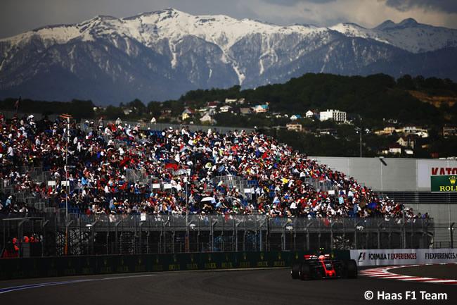 Kevin Magnussen - Haas F1 - Domingo - Carrera - GP Rusia 2017