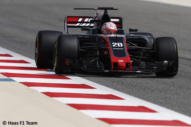 Kevin Magnussen - Haas - Test - Temporada 2017 - Bahréin - Día 2