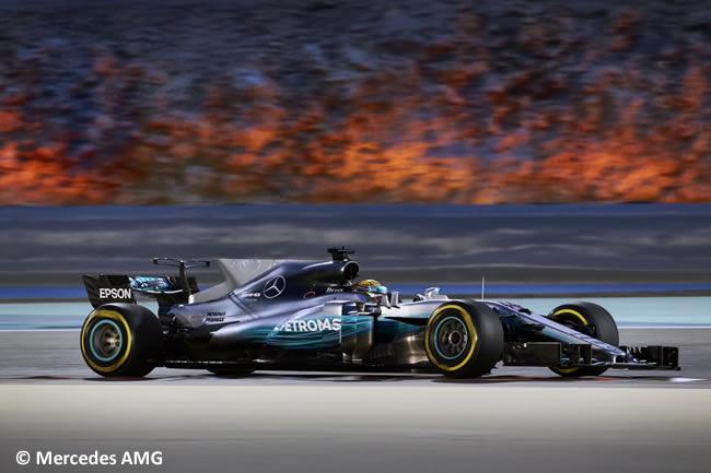 Lewis Hamilton - Mercedes AMG - GP Bahréin - 2017 - Domingo - Carrera