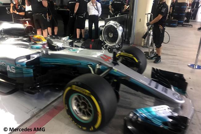 Lewis Hamilton - Mercedes AMG - GP Bahréin - 2017 - Viernes