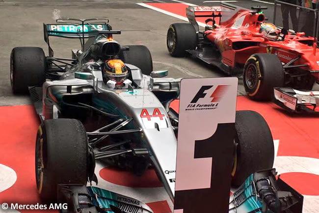 Lewis Hamilton - Victoria - Mercedes AMG - Gran Premio China 2017 - Carrera - Domingo