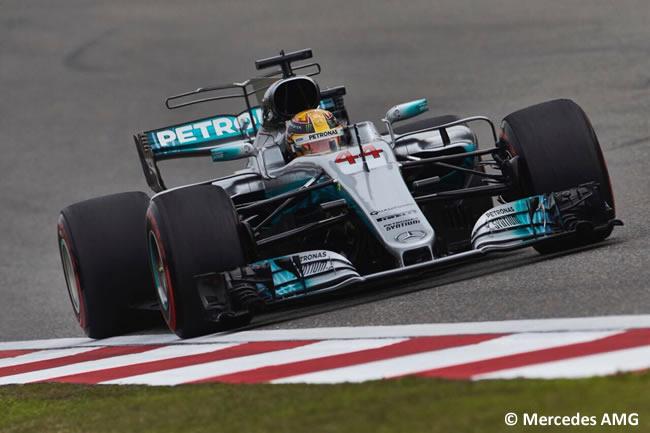 Lewis Hamilton - Mercedes AMG - Gran Premio China 2017 - Calificación - Clasificación