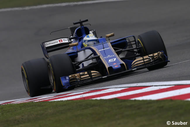 Marcus Ericsson - Sauber - Gran Premio China 2017 - Carrera - Domingo