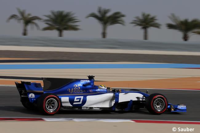 Marcus Ericsson - Sauber - Test Bahréin temporada 2017 - Día 1