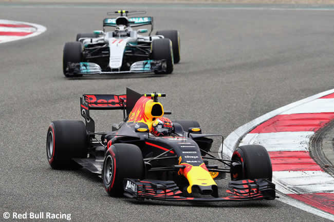 Max Verstappen - Red Bull Racing - Gran Premio China 2017 - Carrera - Domingo