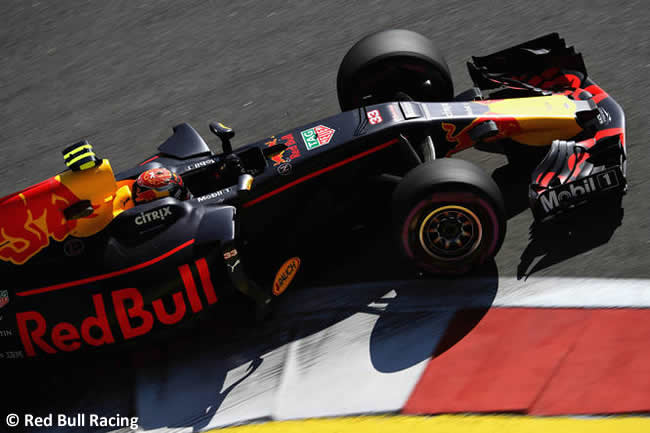 Max Verstappen - Red Bull Racing - GP Rusia 2017 - Viernes