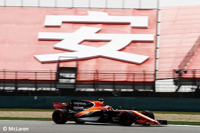 McLaren - Gran Premio China 2017 - Calificación - Clasificación