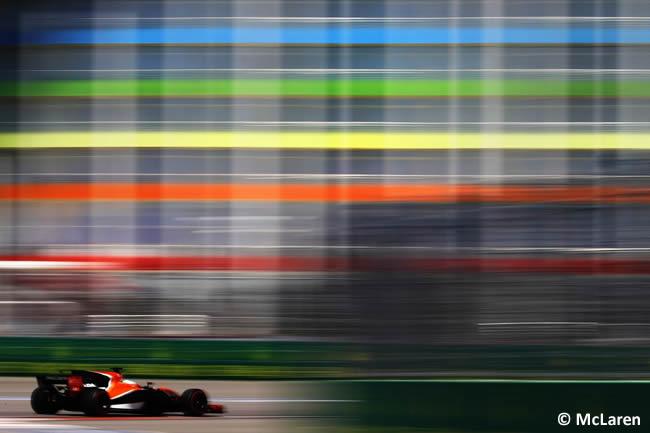 McLaren - GP Rusia 2017 - Calificación - Clasificación