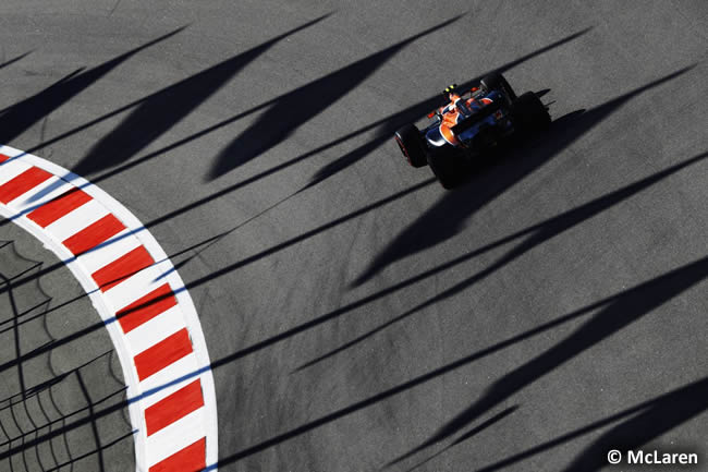 McLaren-Honda - GP Rusia 2017 - Viernes