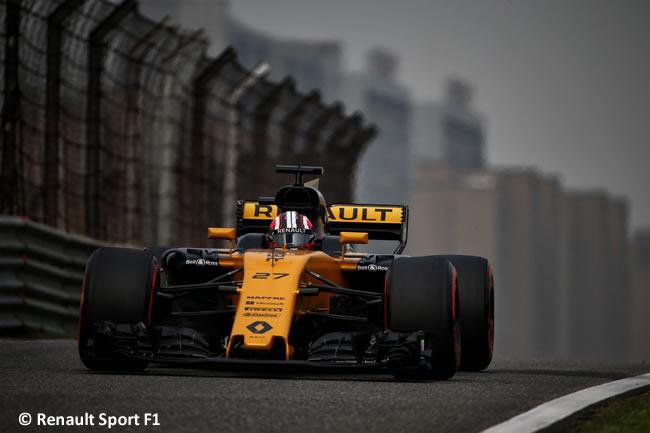 Nico Hulkenberg - Renault - Gran Premio China 2017 - Calificación - Clasificación