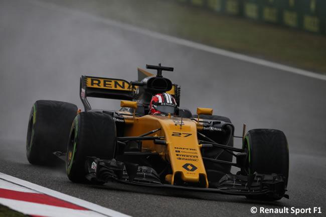 Nico Hulkenberg - Renault - Gran Premio China 2017 - Entrenamientos - Viernes