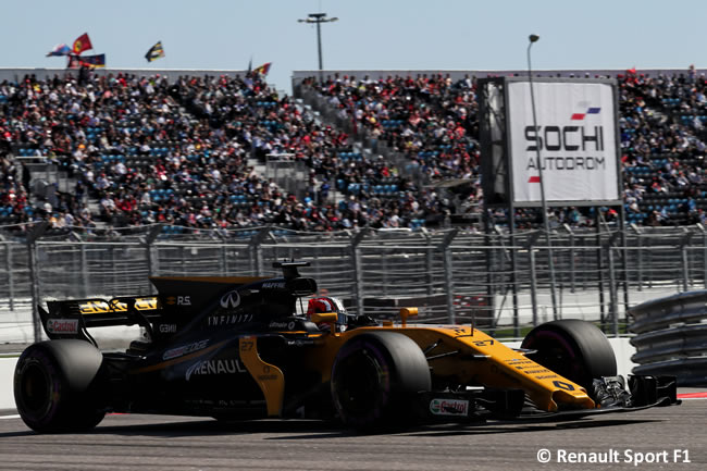 Nico Hulkenberg - Renault Sport - GP Rusia 2017 - Calificación - Clasificación