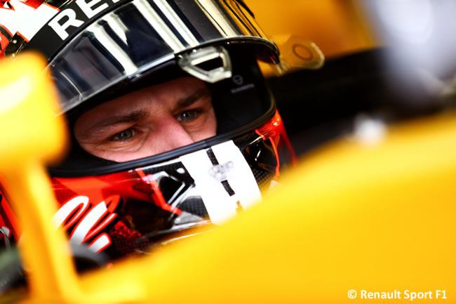 Nico Hulkenberg - Renault Sport - GP Bahréin - 2017 - Viernes