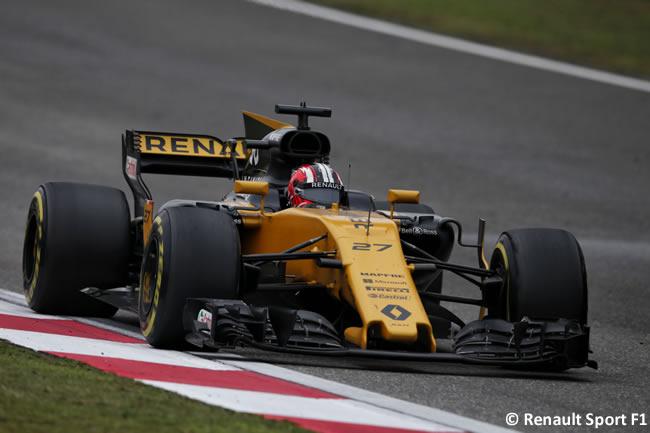 Nico Hulkenberg - Renault Sport - Gran Premio China 2017 - Carrera - Domingo