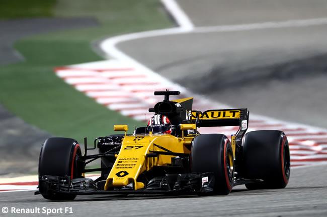 Nico Hulkenberg - Renault Sport - GP Bahréin - 2017 - Domingo - Carrera