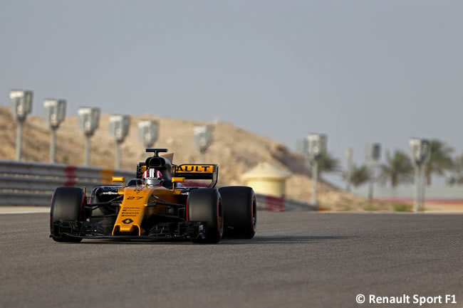 Nico Hulkenberg - Renault Sport - Test Bahréin temporada 2017 - Día 1