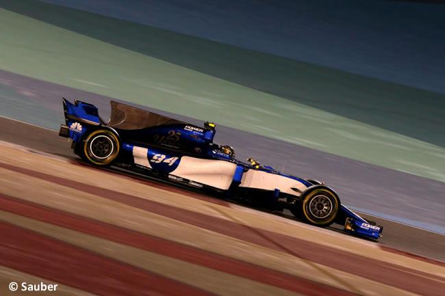 Pascal Wehrlein - Sauber - GP Bahréin - 2017 - Domingo - Carrera