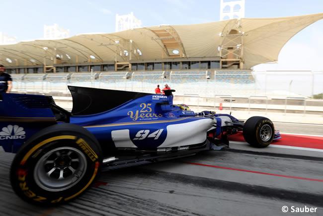 Pascal Wehrlein - Sauber - Test - Temporada 2017 - Bahréin - Día 2