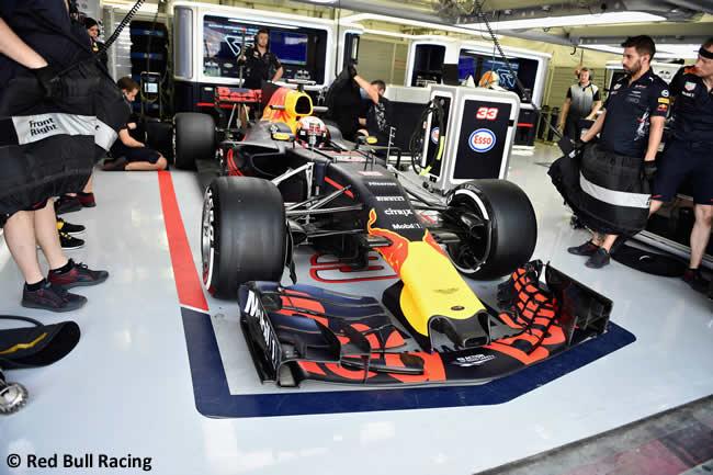 Pierre Gasly - Red Bull Racing - Test - Temporada 2017 - Bahréin - Día 2