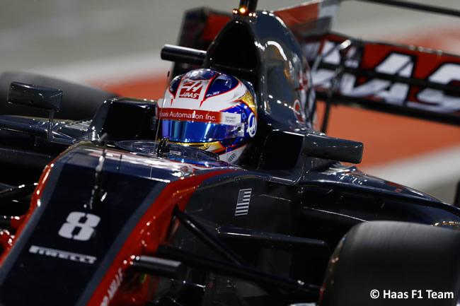 Romain Grosjean - Haas - 2017 -Sábado - Calificación - Clasificación