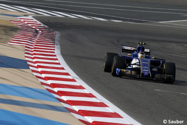 Sauber - GP Bahréin - 2017 - Viernes