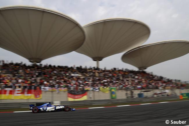 Sauber - Gran Premio China 2017 - Calificación - Clasificación