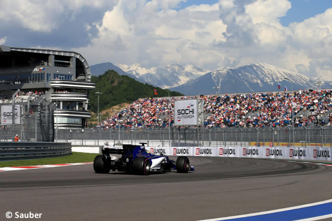 Sauber - Domingo - Carrera - GP Rusia 2017