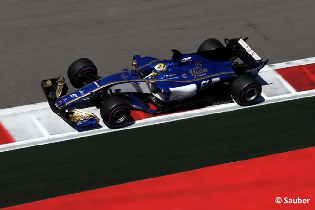 Marcus Ericsson - Sauber - GP Rusia 2017 - Calificación - Clasificación