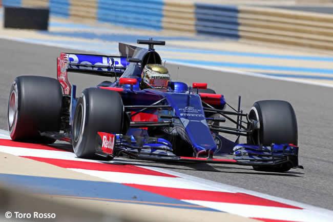 Sean Gelael - Toro Rosso - Test Bahréin temporada 2017 - Día 1
