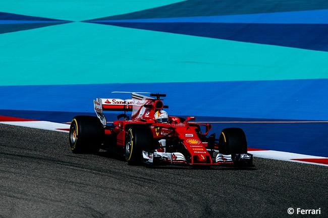 Sebastian Vettel - Scuderia Ferrari - GP Bahréin - 2017 - Viernes