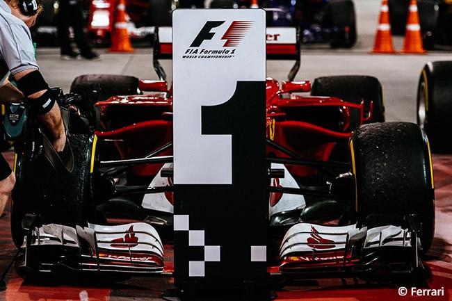 Sebastian Vettel - Scuderia Ferrari - GP Bahréin - 2017 - Domingo - Carrera