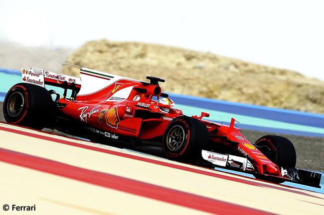 Sebastian Vettel - Scuderia Ferrari - Test - Temporada 2017 - Bahréin - Día 2