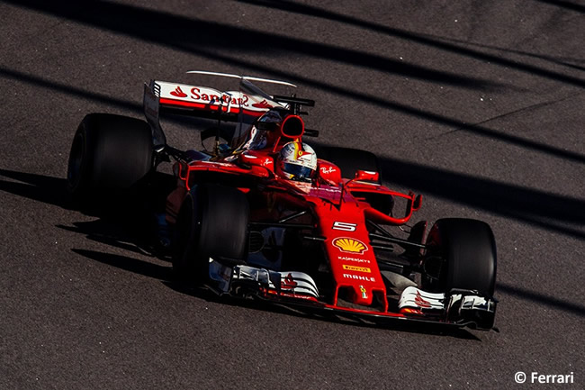 Sebastian Vettel - Scuderia Ferrari - GP Rusia 2017 - Viernes