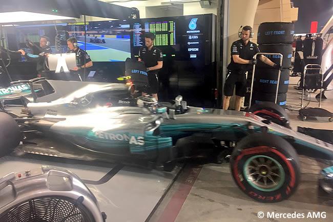 Valtteri Bottas - Mercedes AMG - 2017 -Sábado - Calificación - Clasificación