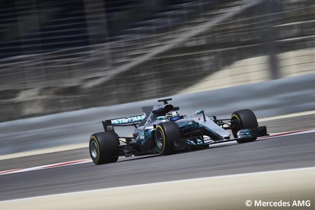 Valtteri Bottas - Mercedes AMG - Test - Temporada 2017 - Bahréin - Día 2