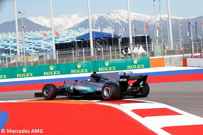 Valtteri Bottas - Mercedes AMG - GP Rusia 2017 - Viernes