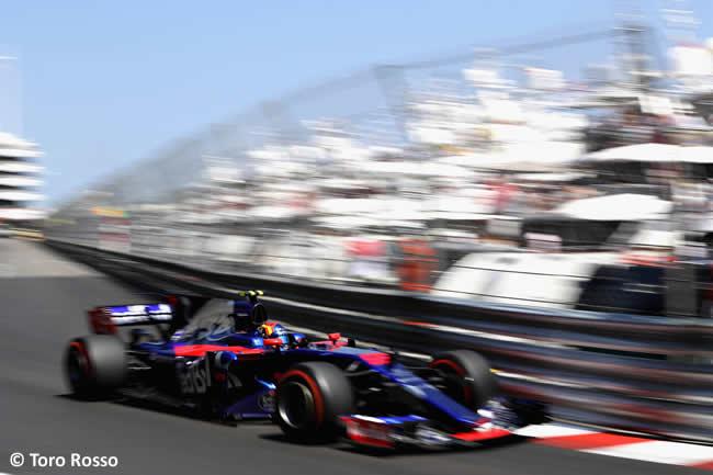 Carlos Sainz - Toro Rosso - GP Mónaco 2017 - Carrera
