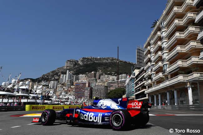 Carlos Sainz - Toro Rosso - Calificación - GP Mónaco 2017
